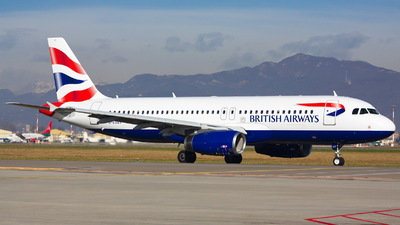 G-EUUT - Airbus A320-232 - British Airways