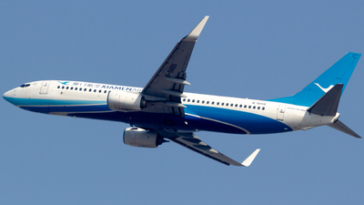 A picture of B5565 - Boeing 73786N - Xiamen Air - © Flying Shark