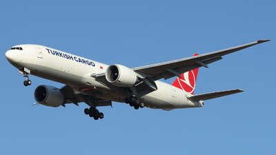 A picture of TCLJP - Boeing 777F - Turkish Airlines - © ikeharel