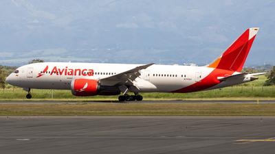 A picture of N785AV - Boeing 7878 Dreamliner - Avianca - © Jean Carlo Mosquera