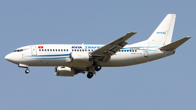 A picture of EX37020 - Boeing 7373L9 - Avia Traffic - © M Umar Aziz - Snappers Crew