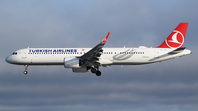 A picture of TCLSL - Airbus A321271NX - Turkish Airlines - © John Fitzpatrick