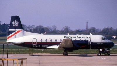 G-BGMO - Hawker Siddeley HS-748 Series 2A - British Airways