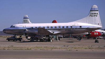 N73166 - Convair CV-580 - Sierra Pacific Airlines
