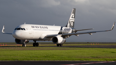 A picture of ZKOXC - Airbus A320232 - Air New Zealand - © Reuben Morison
