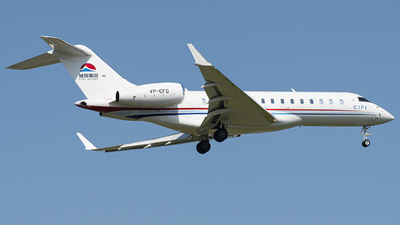 VP-CFG - Bombardier BD-700-1A10 Global 6000 - Private