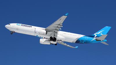 A picture of CGTSO - Airbus A330342 - Air Transat - © Michael Durning