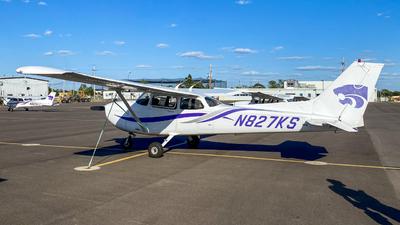 N827KS - Cessna 172R Skyhawk - Kansas State University