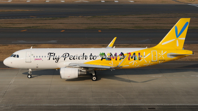 JA08VA - Airbus A320-214 - Peach Aviation