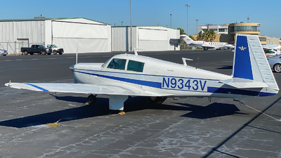 N9343V - Mooney M20C - Private