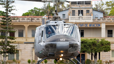 A picture of FAH952 - Bell UH1H Iroquois - [] - © Nelson Mejia