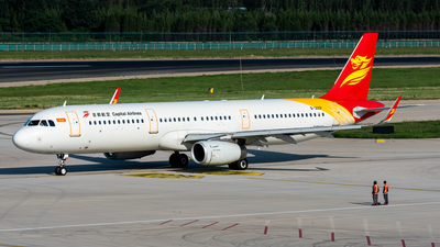 B-300F - Airbus A321-231 - Capital Airlines