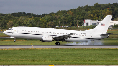 N640CS - Boeing 737-4Y0 - United States - Department of Justice (DOJ)