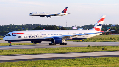 G-XWBE - Airbus A350-1041 - British Airways