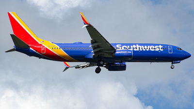 A picture of N8303R - Boeing 7378H4 - Southwest Airlines - © Israel Polanco