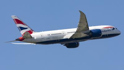 A picture of GZBJB - Boeing 7878 Dreamliner - British Airways - © X Pan