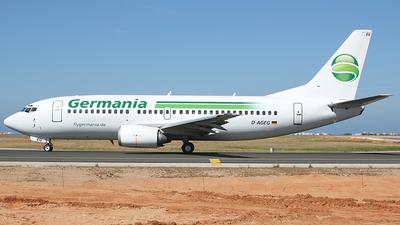 D-AGEG - Boeing 737-35B - Germania