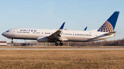A picture of N38459 - Boeing 737924(ER) - United Airlines - © Davin Amy