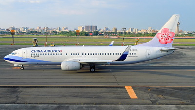 B-18656 - Boeing 737-8MA - China Airlines