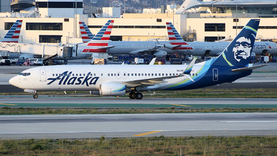 A picture of N519AS - Boeing 737890 - Alaska Airlines - © Liu Chen