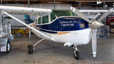 VH-EGG - Cessna P206B Super Skylane - Flight One