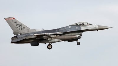 90-0821 - Lockheed Martin F-16CJ Fighting Falcon - United States - US Air Force (USAF)