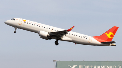 B-3190 - Embraer 190-100LR - Tianjin Airlines