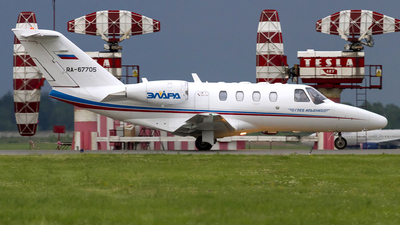 RA-67705 - Cessna 525 CitationJet 1 - Tulpar