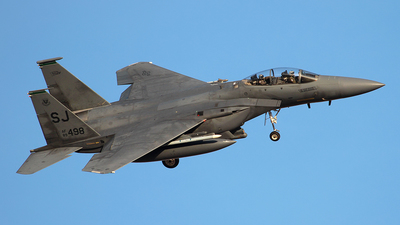 89-0498 - McDonnell Douglas F-15E Strike Eagle - United States - US Air Force (USAF)