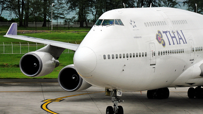 HS-TGN - Boeing 747-4D7 - Thai Airways International