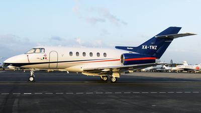 XA-YNZ - Raytheon Hawker 800XP - Air Taxi