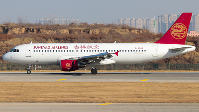 A picture of B6949 - Airbus A320214 - Juneyao Airlines - © Jinshui Road