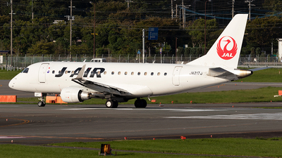 A picture of JA217J - Embraer E170STD - Noble Air Charter - © Yukio023