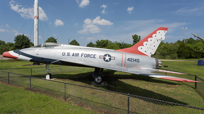 54-2145 - North American F-100D Super Sabre - United States - US Air Force (USAF)