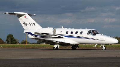 HB-VTW - Cessna 525 CitationJet M2 - Transwing