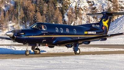 HB-FVD - Pilatus PC-12/47E - Air Corviglia
