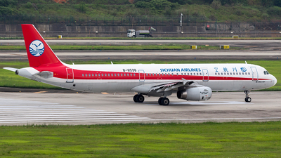 B-6598 - Airbus A321-231 - Sichuan Airlines