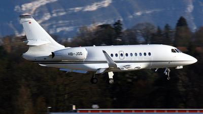 HB-JGG - Dassault Falcon 2000LX - MSC Aviation