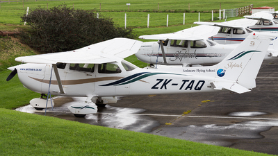 ZK-TAQ - Cessna 172R Skyhawk II - Ardmore Flying School