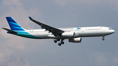 PK-GPF - Airbus A330-341 - Garuda Indonesia