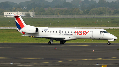 F-GRGF - Embraer ERJ-145EU - HOP! for Air France
