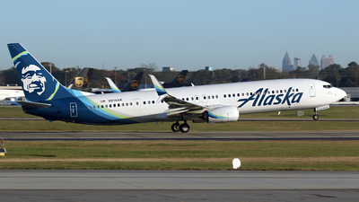 A picture of N214AK - Boeing 737990(ER) - Alaska Airlines - © Kevin Porter