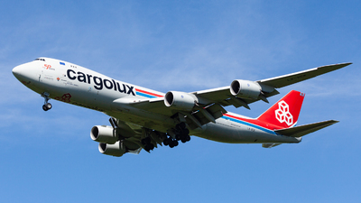 A picture of LXVCK - Boeing 7478R7(F) - Cargolux - © Marianna Rychkovskaia