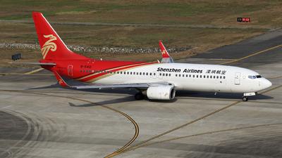 B-5412 - Boeing 737-87L - Shenzhen Airlines