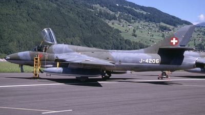 J-4206 - Hawker Hunter T.68 - Switzerland - Air Force