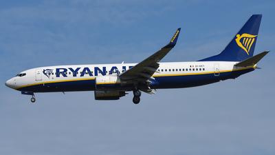 A picture of EIEKT - Boeing 7378AS - Ryanair - © AKH