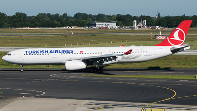 TC-JNJ - Airbus A330-343 - Turkish Airlines