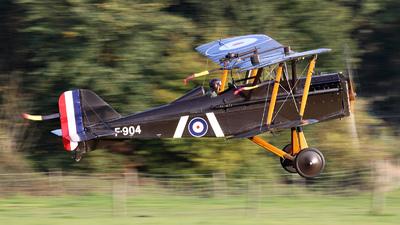 G-EBIA - Royal Aircraft Factory S.E.5a - Private