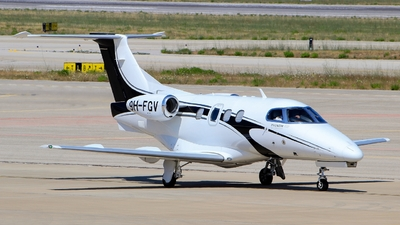A picture of 9HFGV - Embraer Phenom 100 -  - © Pampillonia Francesco - Plane Spotters Bari