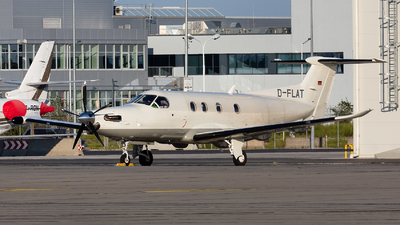 D-FLAT - Pilatus PC-12/47E - Private